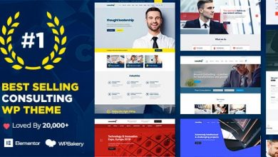 Free Download Consulting v4.1.4 NULLED - Business, Finance WordPress Theme